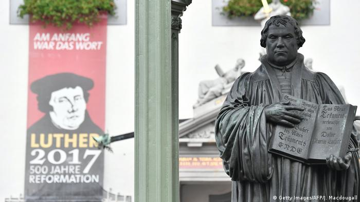 Deutschland Wittenberg Reformationstag (Getty Images/AFP/J. Macdougall)