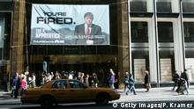 USA Donald Trump TV Show The Apprentice