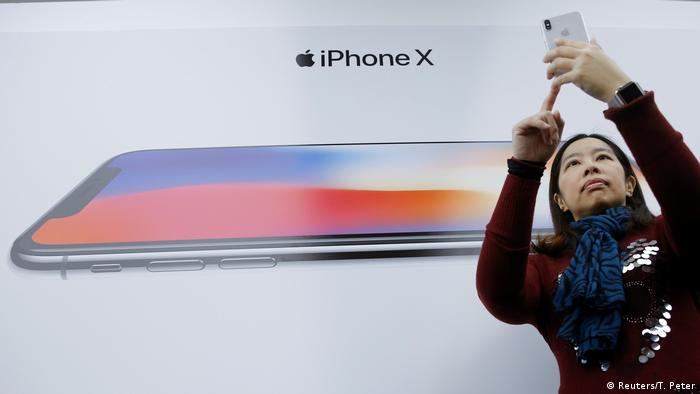 Präsentation Iphone X (Reuters/T. Peter)