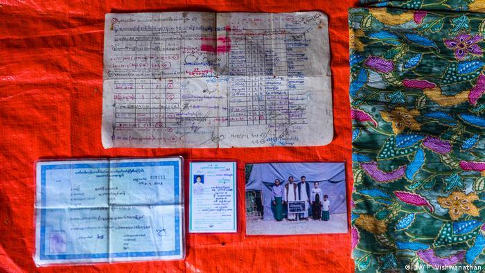 Bangladesch | Persönliche Gegenstände von Rohingya-Flüchtlingen