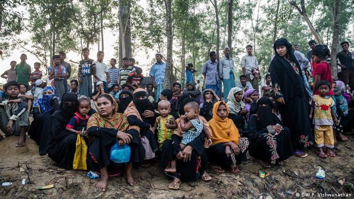 Aus Myanmar geflohene Rohingya in Bangladesch
