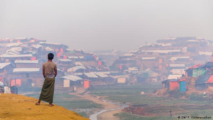 Bangladesch | Rohingya-Flüchtlingslager rund um Cox's Bazar (DW/ P. Vishwanathan)