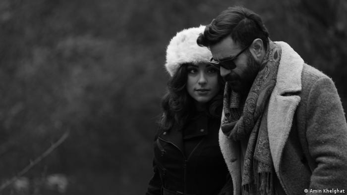 شاهین نجفی و شریک زندگیاش لیلی