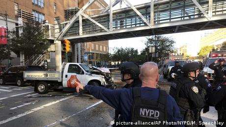 USA New York - Schüsse in Manhattan (picture-alliance/AP Photo/NYPD/M. Speechley)