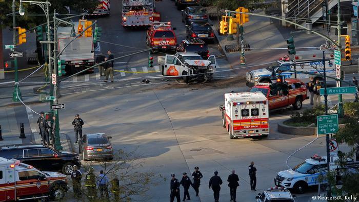 Image result for фото теракт 2017 в нью йорке