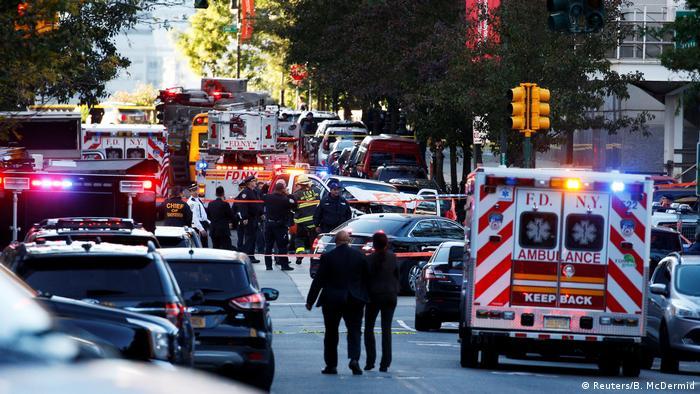 USA New York - Schüsse in Manhattan