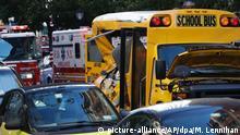 New York Autoanschlag Schulbus