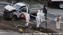 New York Manhattan Autoanschlag