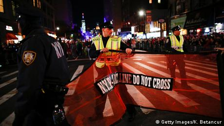 USA New York police blocks off the scene of the attack (Getty Images/K. Betancur)