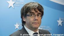 Brüssel Pressekonferenz Puigdemont