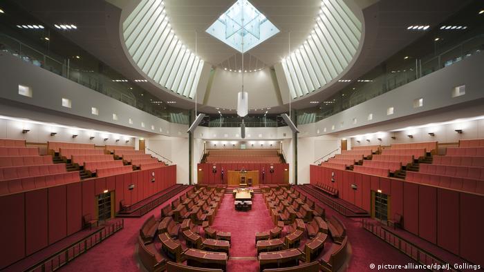 Australia's parliament in Canberra