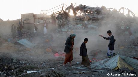Десятки дітей загинули в Ємені внаслідок авіаудару арабської коаліції