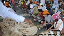Sikh Tempel in Indien World Food Day