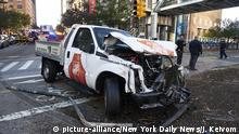 USA New York Autoanschlag in Manhattan