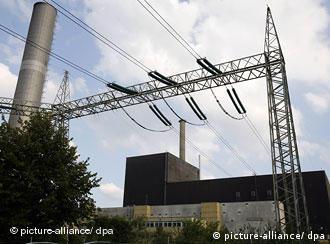 Deutschland Energie Atomkraftwerk Brunsbüttel