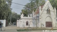 Friedhof in Indien Schlagworte: Friedhof, Indien Wer hat das Bild gemacht?: DW, Faisal Fareed Bildbeschreibung: Nishatganj Christian Graveyard in India