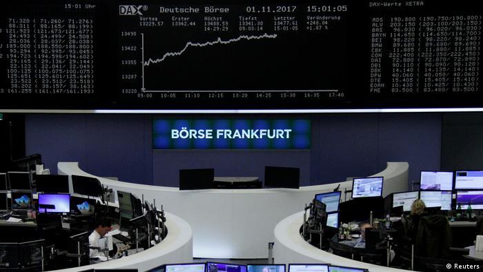 Deutschland Frankfurter Börse DAX
