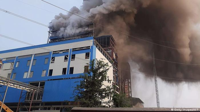 Eight dead, 100 injured in blast at Indian coal-fired plant
