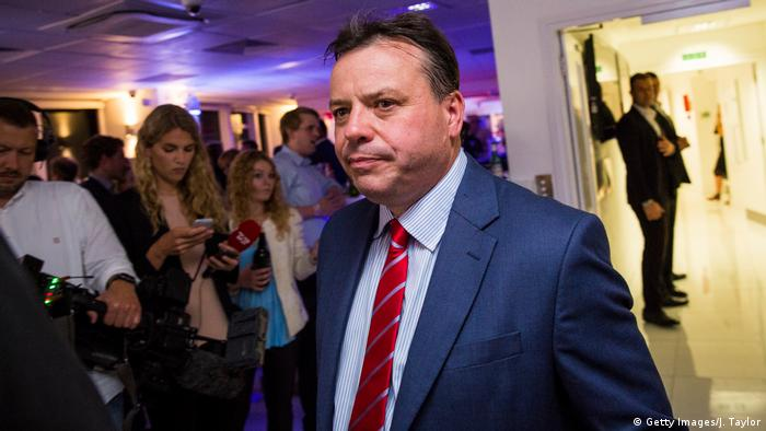 British businessman and co-founder of Leave.EU Arron Banks attends the campaign's referendum party at Millbank Tower (Getty Images/J. Taylor)