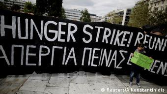 Απεργία πείνας προσφύγων στην Αθήνα. Αίτημα η άμεση οικογενειακή επανένωση