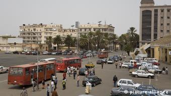 Eritrea, Hauptstadt Asmara, Busbahnhof