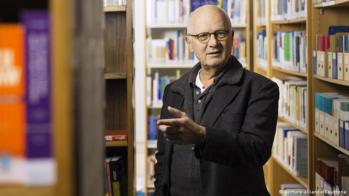 Historian and author Georg Kreis