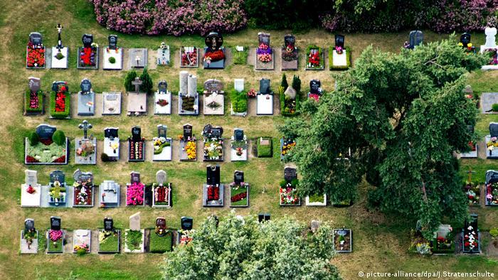 Кладбище в Ганновере