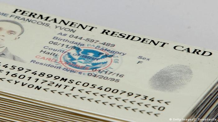 US Greencard - Permanent Resident Card (Getty Images/C. Somodevilla)