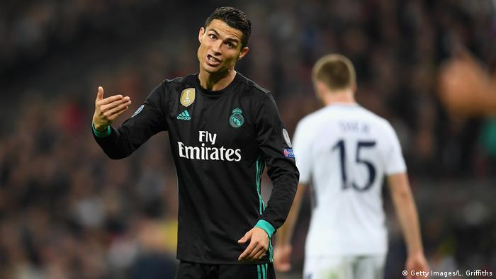 Fussball UEFA Champions League - Tottenham vs Real Madrid - Ronaldo (Getty Images/L. Griffiths)