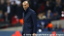 Fussball UEFA Champions League - Tottenham vs Real Madrid - Trainer Zinedine Zidane