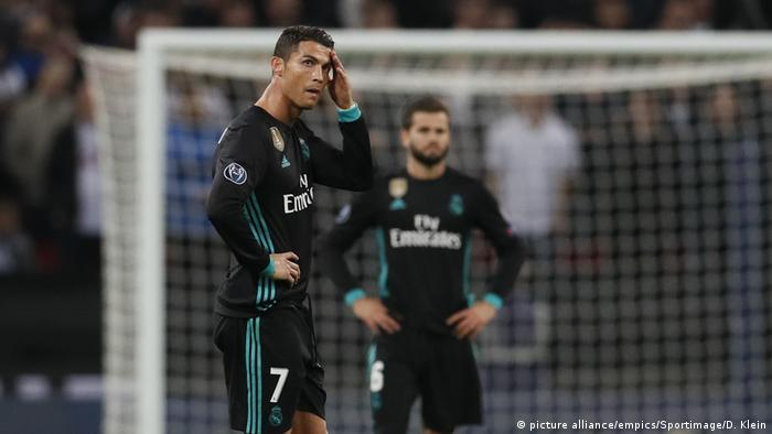 Fussball UEFA Champions League - Tottenham vs Real Madrid - Cristiano Ronaldo (picture alliance/empics/Sportimage/D. Klein)