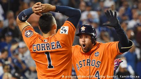 USA MLB Houston Astros v Los Angeles Dodgers Finale (picture-alliance/USA Today Sports/J. Kamin-Oncea)