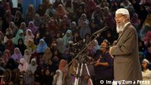 Indonesien Zakir Naik, Prediger Islamic Research Foundation