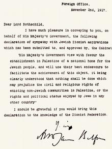 Balfour Deklaration