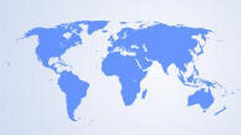 Weltkarte für Language Selector Akademie