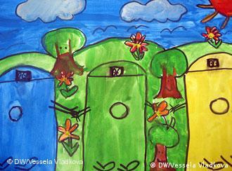 Zeichung zum Thema Umweltbildung (Foto: Vessela Vladkova)