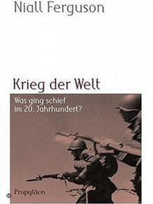 Buchcover Krieg der Welt von Niall Ferguson