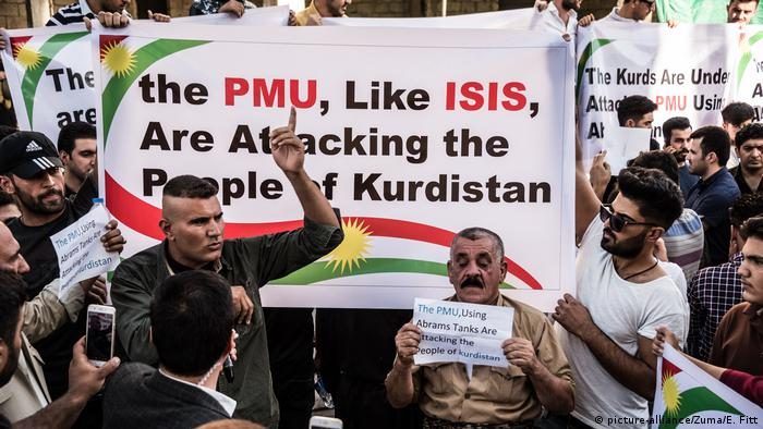 Kurds have accused the Shiite-majority Popular Mobilization Units (PMU) of perpetrating attacks against Kurdish people while Baghdad has stood silent