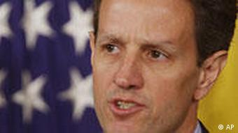 US-Finanzminister Timothy Geithner. Quelle: AP
