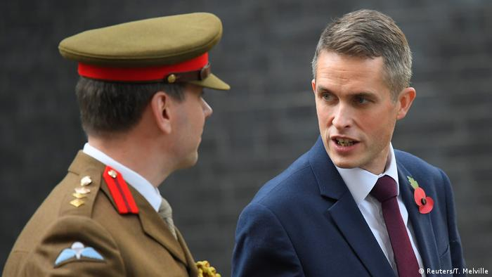 Britain's newly appointed Secretary of State for Defence Gavin Williamson in Downing Street (Reuters/T. Melville)