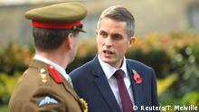 Britain's newly appointed Secretary of State for Defence Gavin Williamson in Downing Street, London, Britain, November 2, 2017. REUTERS/Toby Melville