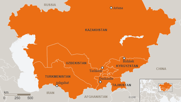Tajikistan lies in a dangerous part of the world