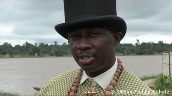 Nigeria, Nigerdelta, Bubaraye Dakolo, traditioneller Führer