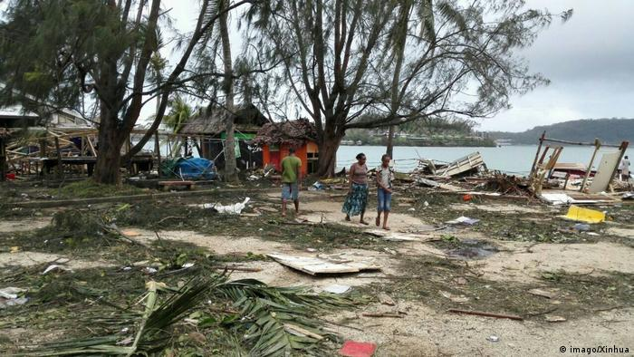 Vanuatu nach Zyklon Pam (imago/Xinhua)
