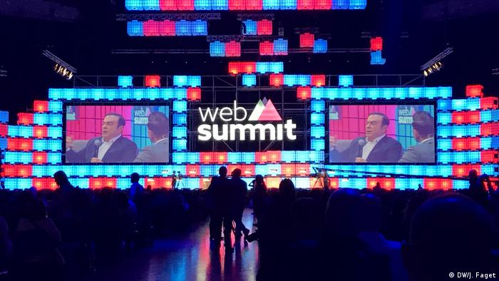 Web Summit 2016 Hauptbühne