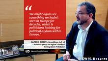 Zitat Conflict Zone Alfred Bosch