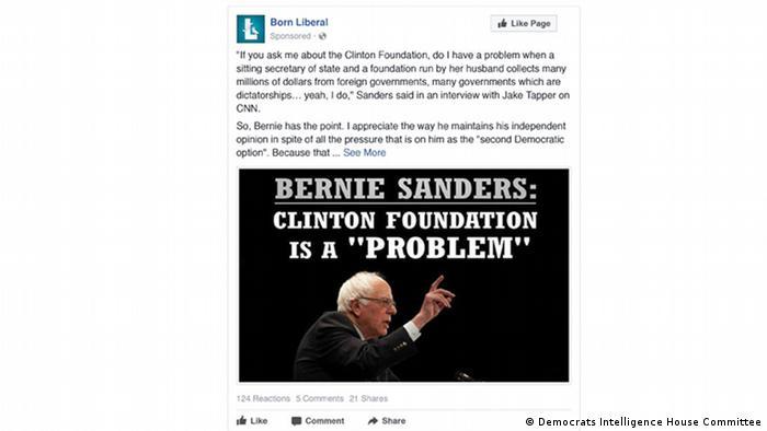 Fake Facebook Ad Born Liberal
