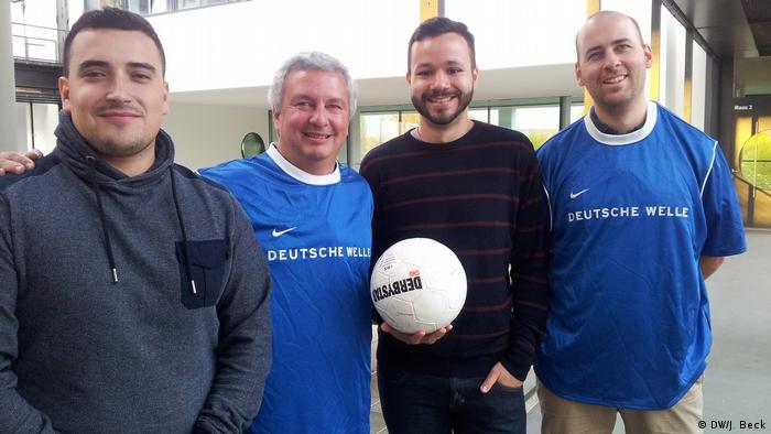 Bundesliga-Reporter DW Portugiesisch für Afrika