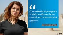 Faces Kampagne Portugiesisch für Afrika