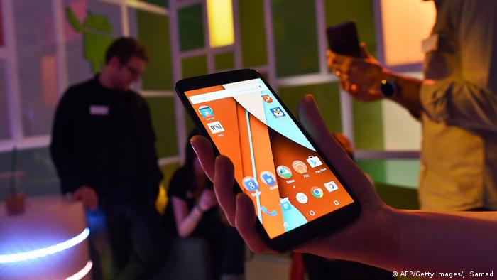 Android Lollipop (AFP/Getty Images/J. Samad)